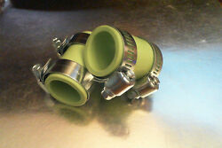 Yamaha Banshee Rubber Exhaust Pipe Clamps All Years Fmf,dg, Factory Green