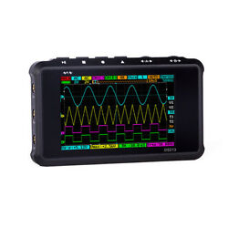 ARM DSO213 Quad 4CH Portable Pocket Sized Digital Storage Oscilloscope 15MHz US