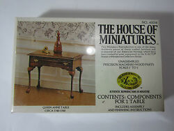New X-acto House Of Miniatures Queen Anne Table 1740-1760 Antique Replica Doll