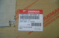 Yanmar 735400-42102-a Sail Boat Marine Water Cooling Brass Pump Assembly New