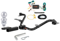 Curt Class 3 Trailer Hitch Tow Package For Nissan Nv200 Minivan