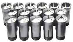 New 35pc 5c Round Collet Set 1/16 To 1-1/8 By 32ths