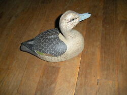 1984 Signed S Bishop Stafford Springs Connecticut Wood Pintail Duck Intrntl Sale