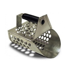 Galvanized Beach and Sand Scoop for Metal Detectors $28.49