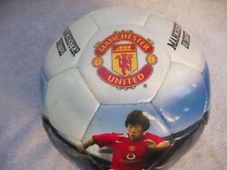 Soccer Ball Picture Ball Manchester United Collectible