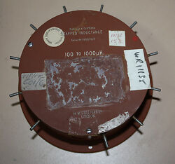 Sullivan And Giffiths Tapped Inductance Inductor 100 To 1000 Uh