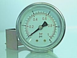 Panel Mounted Air Pressure Gauges 40 And 50mm 1.1/2 And 2 C/w Bracket