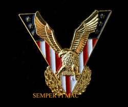 Usa Flag Victory Bald Eagle Jewelry Hat Pin Us Army Navy Air Force Marines Uscg