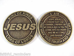 Jesus Salvation Coin - Lot Of 5000 Coins @ .50 Per Coin