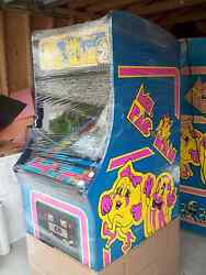 Ms. PAC-MAN Fully Restored Original Video Arcade Game with Warranty