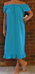 Dress 100 Cotton Gauze 44andrdquo Andldquomade In Usaandrdquo For Yourself Or A Perfect Gift
