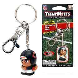 Nfl Teenymates Tagalong Key Chain With Clip. Position Is Based On Availability