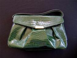 COURREGES DESIGNER GREEN LIZARD AUTHENTIC BAG UNUSED CONDITION 12