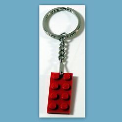 Key Chains With Lego 2x4 Red Plate Birthday Party Favor Game Prize Reward