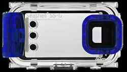 Seashell Ss-g Diving Underwater Housing Hard Case For Samsung Galaxy S4/s3 Blue