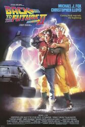 Back To The Future Part Ii - Movie Poster / Print Size 27 X 40