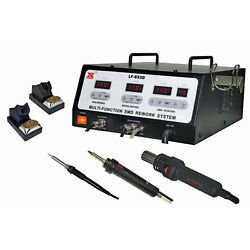 Xytronic Lf-853d 900w Hot-air Smd Rework System With Fume Extractor