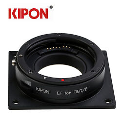 Kipon Adapter W Electronic Aperture Control for Canon EOS to Red EpicScarlet