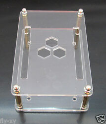 Clear Case Enclosure for Beaglebone Black Case  Half-open Frame Design
