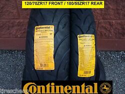 Suzuki Gsf1200s Two Continental Sport Touring Radial Motorcycle Tire Set
