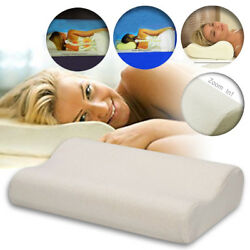 Contour Memory Pillow Soft Foam Comfortable Head Back Orthopedic Neck Support