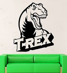 Wall Sticker Vinyl Decal Dinosaur for Kids Room Nursery T Rex ig2028 $29.99