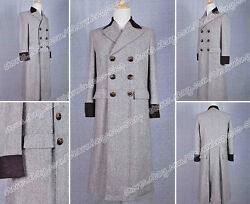 Who Is Doctor Movie Costume Dr. Wenge Brown Trench Coat High Quality Halloween