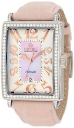 Gevril Womenand039s 6208rl Glamour Automatic Diamond Rare Stainless Steel Watch