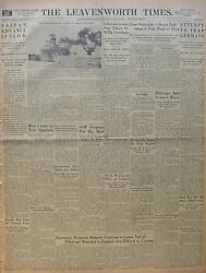 6-1944 Wwii June 18 D-day Normandy - Robot Planes Bomb Uk - Lct 763 Craft Saipan