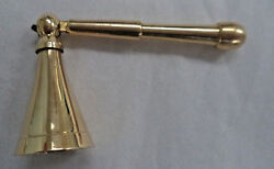 Long Belled Brass Mini Candle Snuffer 3quot; NEW