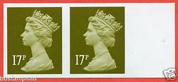 Sg. Y1681 A. 17p Brown-olive. A Superb Unmounted Mint Right Hand Marginal.