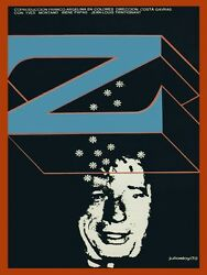 9394.z.french.algerian Film.man With Snow Flakes.poster.decor Home Office Art