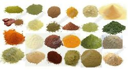 Herbs  Spices Raw Ground Natural Powder Shipping with Registered