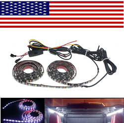 15 Color RGB LED Knight Rider Ground Effect Light Kit For Motorcycles Bike