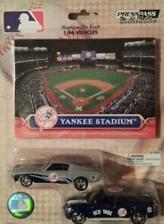 Mlb New York Yankees Home And Road Mustang/charger W/trading Card Pack New 2010