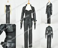 Green Arrow Cosplay Black Canary Sara Lance Costume Full Set Exquisite In Detail