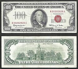 100 1966 Usn==fancy Number==two-digit Repeater==very Fine