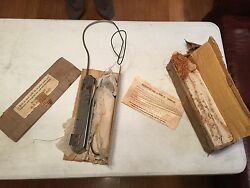 2 Sets Of Vintage French Semaphore Turn Signals