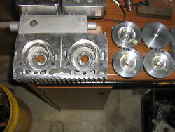 Rupp Xenoah,440,340,250 Machined Cylinder Heads For Billet Inserts Long Studs
