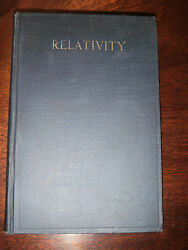 Relativity Special And General Theory By Albert Einstein 1921 2nd Edition Vg