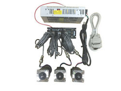 3 Axis Gecko G540 Kit With 381 Oz-in Stpper Motor, 48v/7.3a
