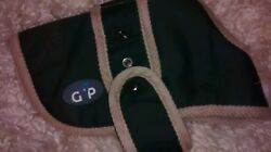 Gor Pets Small Dog Coat Jacket Faux Sheepskin Lining. 8 And 10 Inch Red Navy
