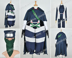 Fairy Tail Cosplay Mystogan Costume Uniform Outfit Full Set Anime Clothing Cool