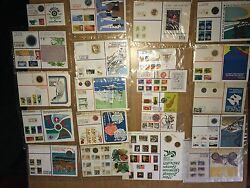 Various Stamps And Coins From New Zealand And Austria And Andnbsp New.
