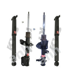 4-kyb Excel-g® Strut/shocks 2-front And 2-rear Honda Odyssey 2008 To 2010