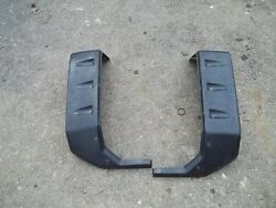 1998 Yamaha Grizzly 600 4wd Front Fender Flares Left Right Front Plastic Guards