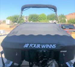 Four Winns Boat Cover 2007-2012 220 Horizion Ss Mooring Cover Black 072-3794 Oem