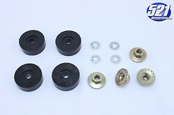 Seat Mounting Pads Insulators Kit 1 Nuts Fits Charger Cuda Superbee Dart Mopar