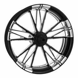 Xtreme Machine Execute Xquisite 21 Front Wheel Tire Rotor Package Harley 14-15
