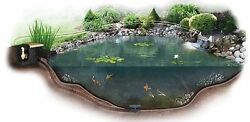 Medium Pond Kit - Complete For 11and039 X 16and039 Pond Em1116fb